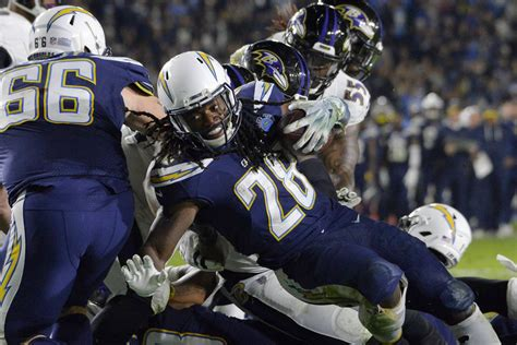 chargers  ravens playoff odds  betting lines