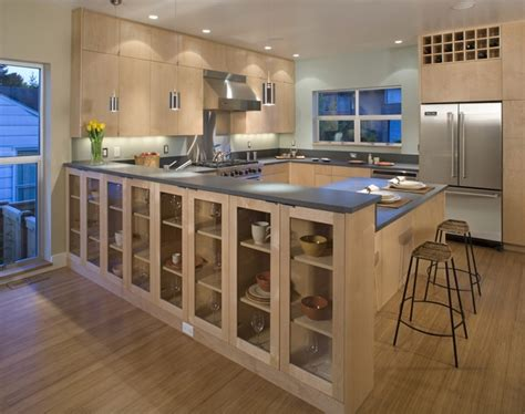 modern kitchen cabinet designs maple cabinets a choice for and modern 7644