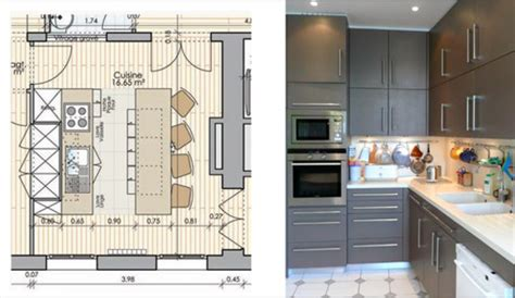 amenagement cuisine 10m2 merveilleux plan amenagement cuisine 10m2 2 amenager
