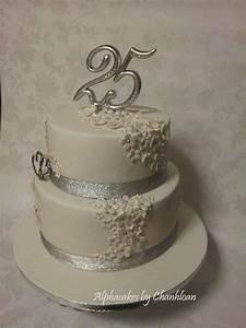 25th Anniversary cake - CakesDecor Wedding Pinterest