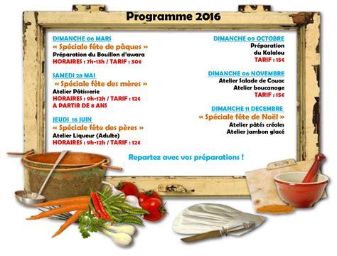 programme de cuisine initiation 224 la gastronomie locale escapade carbet
