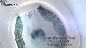 Cuvette Suspendue Sans Bride : wc sans bride rimfree par allia youtube ~ Mglfilm.com Idées de Décoration