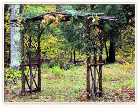 rustic cedar arbor plans woodworking projects plans