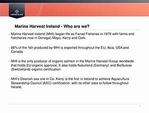 Catherine McManus - From Fanad Fisheries to Marine Harvest