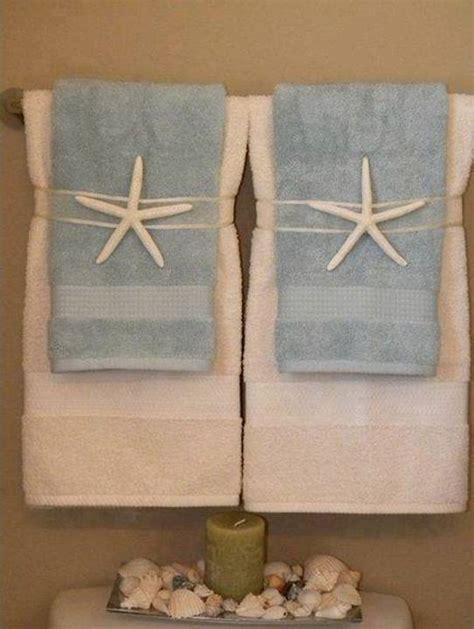 bathroom towel hanging ideas home decor 15 diy pretty towel arrangements ideas