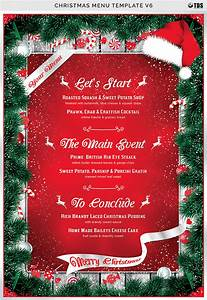 Christmas Menu Template V6 by Thats Design Store ...