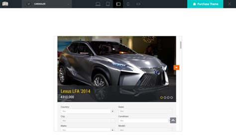 Build A Car Website by Build A Car Dealership Website With Car Dealer