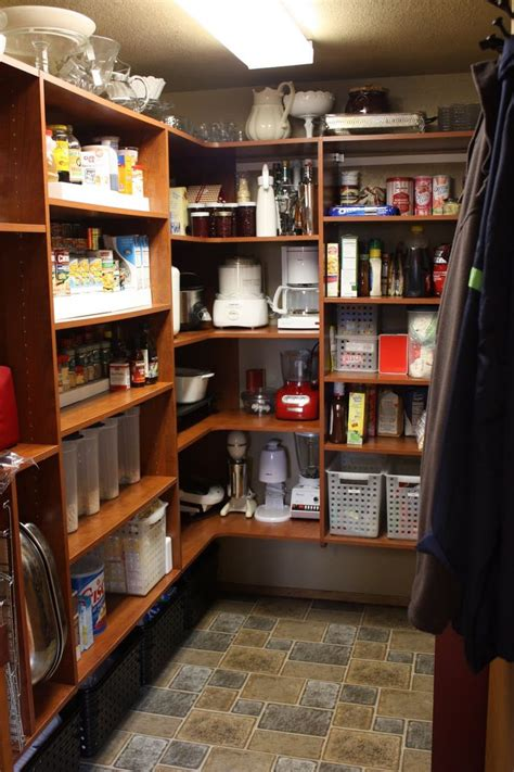 organizer pantry shelving systems  cluttered storage