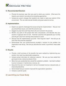 case study template With case studies format template