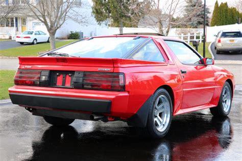 1987 Mitsubishi Starion Esi-r Turbo 5 Speed Immaculate No