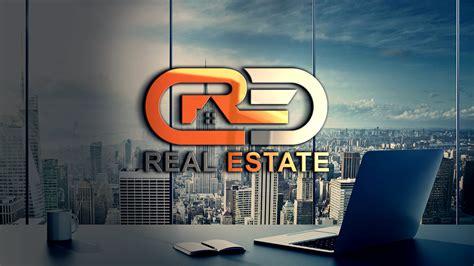 Modern Real Estate Company Logo Design PSD - GraphicsFamily