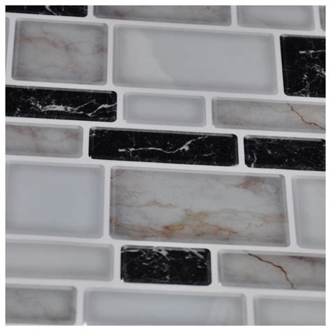 kitchen wall backsplash panels peel n stick kitchen backsplash tile brick pattern