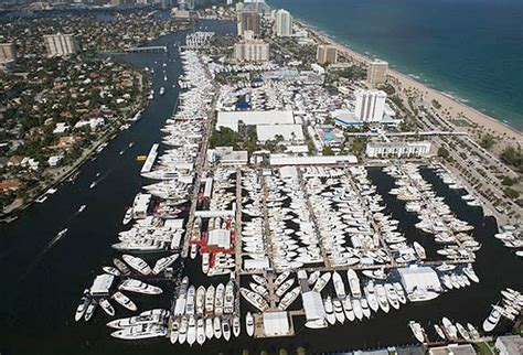 Jacksonville Boat Show 2017 by Aerial View Of Fort Lauderdale International Boat Show