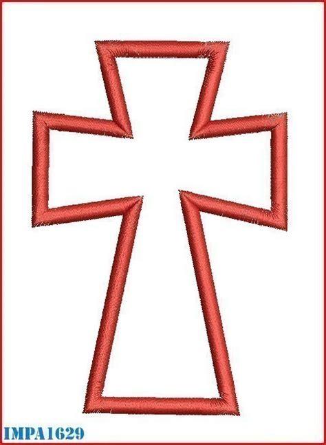 Cross Template Template Of A Cross Clipart Best