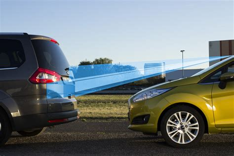 ford fiesta active city stop safety tech captures
