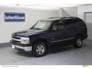 2000 Indigo Blue Metallic Chevrolet Tahoe LS 4x4 #19497526