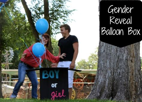 weeks  pinterest week  gender reveal balloon box