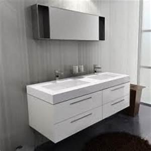 Meuble salle de bain double vasque for Meuble double vasque petite largeur