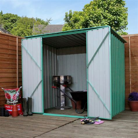 10 x 6 value pent metal shed 3 15m x 1 93m free 48hr