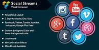 Visual Composer - Social Streams With Carousel v1.7 - Free ...