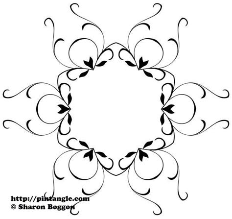128.8 x 139.8 mm (5.07 x 5.50 ) start. embroidery pattern design 28 - Pintangle