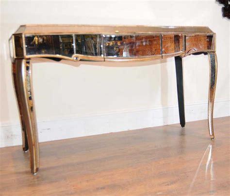 bureau dressing deco mirrored dressing table desk bureau mirror