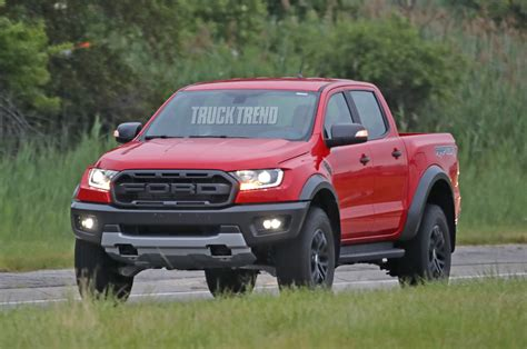 spied left hand drive  ford ranger raptor undisguised