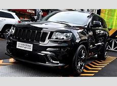 Jeep Grand Cherokee SRT8 Hyun Black Edition Debuts in