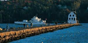 attractions in rockland camden maine lighthouses beaches more