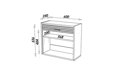 petit mobilier de cuisine petit meuble de cuisine aluminium avec rideau déroulant 60