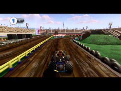 monster truck race track toy disney infinity toy box monster truck fun race track full