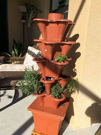 Hydroponic Gardening Tower Garden Container Plant Towers
