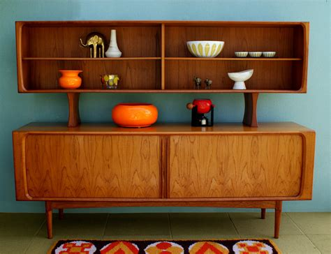 Modern Sideboard Furniture by On Reserve Mid Century Modern Arne Vodder Sideboard