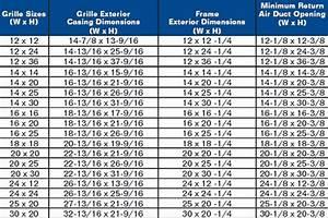 Olympia air return dimensions