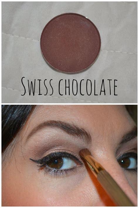 mac  wanted brown eyeshadows jennysue makeup