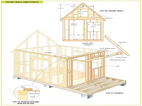 blueprints for cabins wood cabin plans free cabin floor plans free bunkie plans