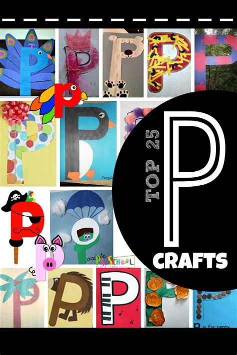 top  letter p crafts preschool play  learn