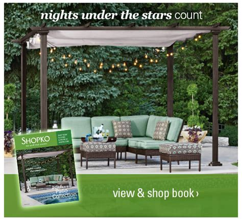 shopko forward with new patio furniture milled