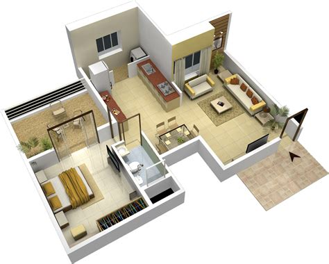 Home Design 1 Bhk : 1 Bhk Flat In Sector-5, Sanpada, Navi Mumbai