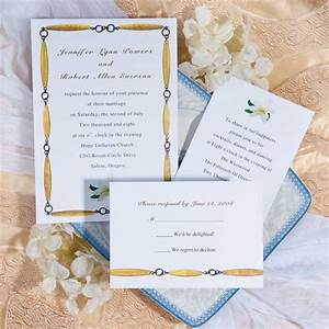 1 pull out or chain wedding invitation With different types of wedding invitation paper