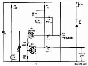 Simple Pulse Generator - Basic Circuit
