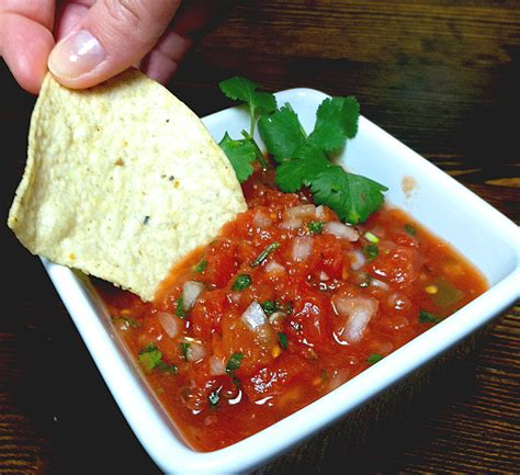 and recipe simple salsa recipe dishmaps