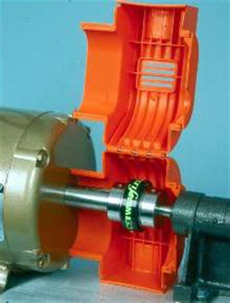 coupling guards suit electric motorgearmotor connections