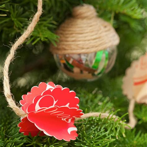 Homemade Countrystyle Christmas Tree Decorations