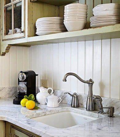 Kitchen Paneling Ideas by White Wood Paneling Backsplash Ideas For A Unique