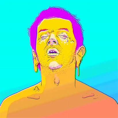 Gifs Animated Melting Bizarre Crying Cartoon Fungo