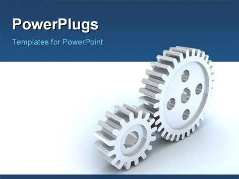 image small  big gears  silver powerpoint