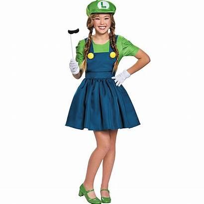 Luigi Costume Tween Skirt Mario Super Tweens