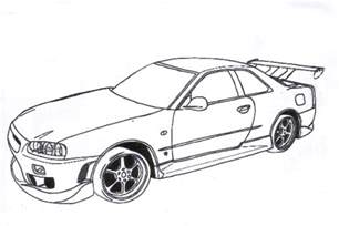 this content is locked - Fast Furious Coloring Pages