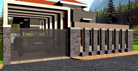contoh model pagar besi minimalis terbaru trendysturvs